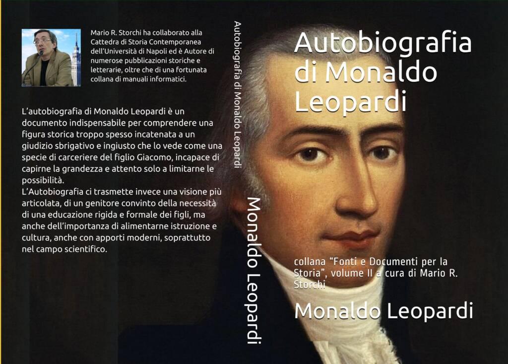 Autobiografia di Monaldo Leopardi - Copertina