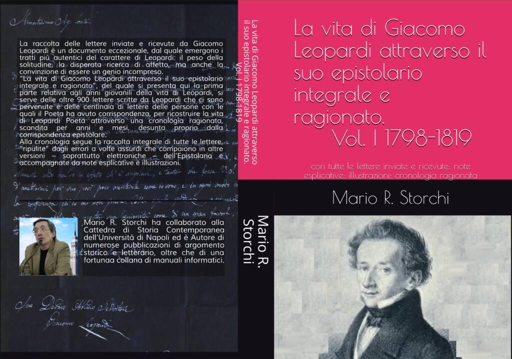 La vita di Giacomo Leopardi. Vol. II - Copertina