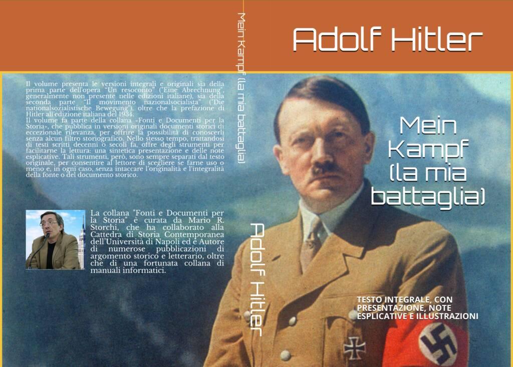 Mein Kampf - Copertina