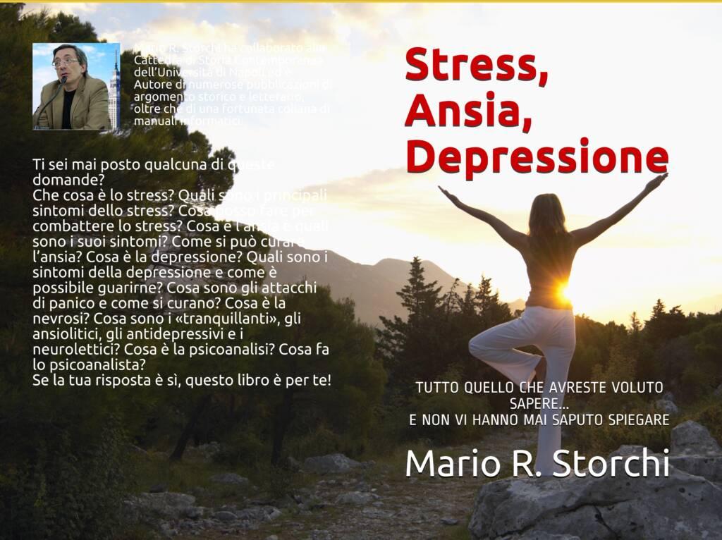 Stress, ansia, depressione - Copertina
